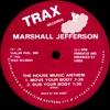 Marshall Jefferson - House Music Anthem (Olivers Club Cut)
