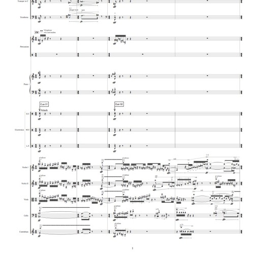 Divine Light-for chamber orchestra and electronics(2015)
