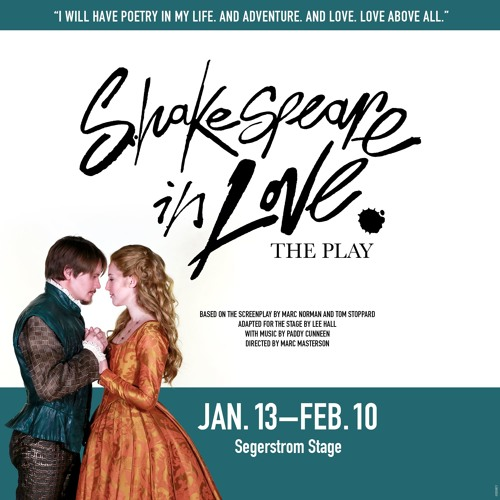 """SCR Podcast: Interview with """"Shakespeare in Love"""" Director Marc Masterson"""