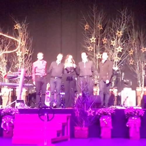 Posnetek Kranjcev s 30. tradicionalnega božično novoletnega koncerta v Ribnici