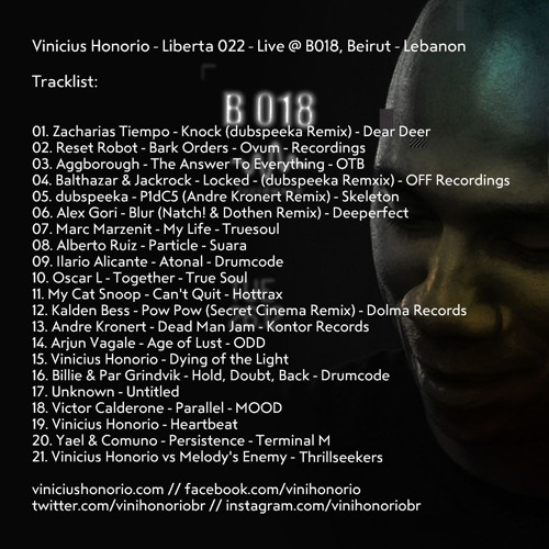 Liberta Radio 022 - Live @ B018, Beirut - Lebanon