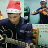 Christmas Songs Medley - Cover by Mark Paul Casimiro (Guitar And Violin)