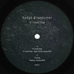 Hodge & Randomer - If I Could Stop