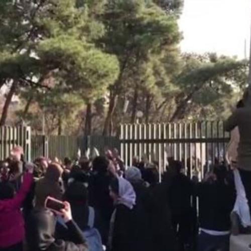«دانشجویان دانشگاه تهران مورد ضرب و شتم قرار گرفتند»