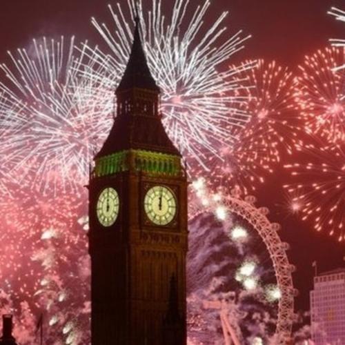 London New Year's Eve 2017/18 Fireworks Soundtrack
