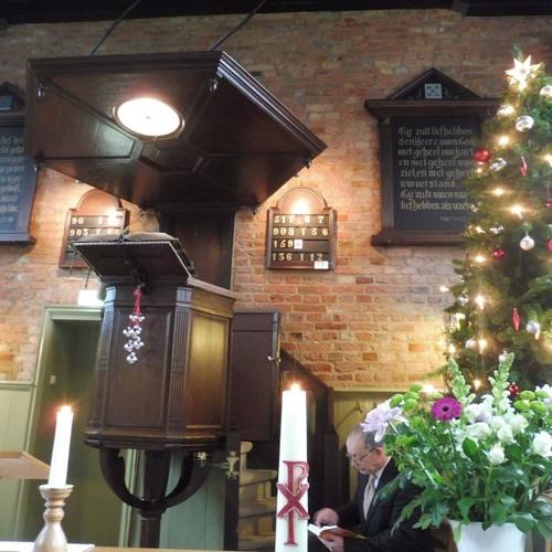 Kerkdienst 31 december 2017  in Ritthem. Voorganger Kees Simons