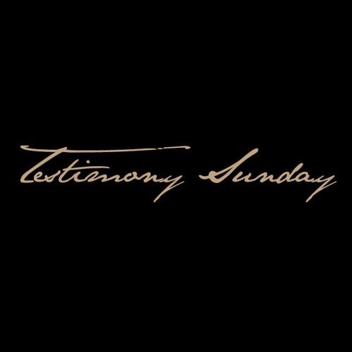 Testimony Sunday // 12.31.17