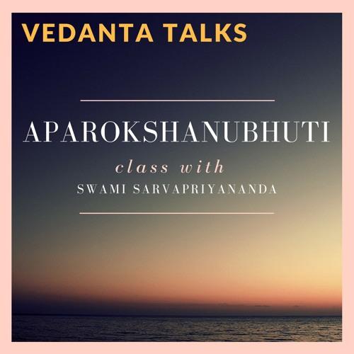 Aparokshanubhuti class with Swami Sarvapriyananda