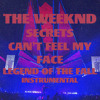 The Weeknd - Secrets/Can't Feel My Face (Live At Legend Of The Fall Tour Instrumental)