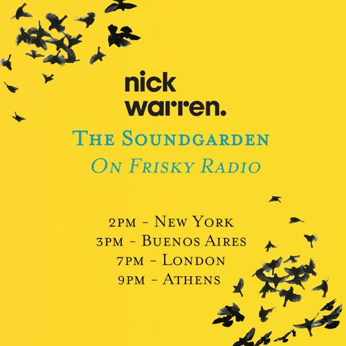 Nick Warren Presents 'The Soundgarden' - December 2017