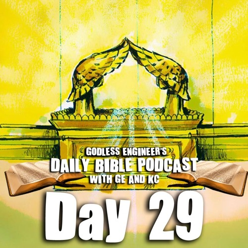 How To Build The Ark of the Covenant || GE's Daily Podcast, Day 29