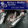 Mc Vays Muffler Full Sing Donut 60