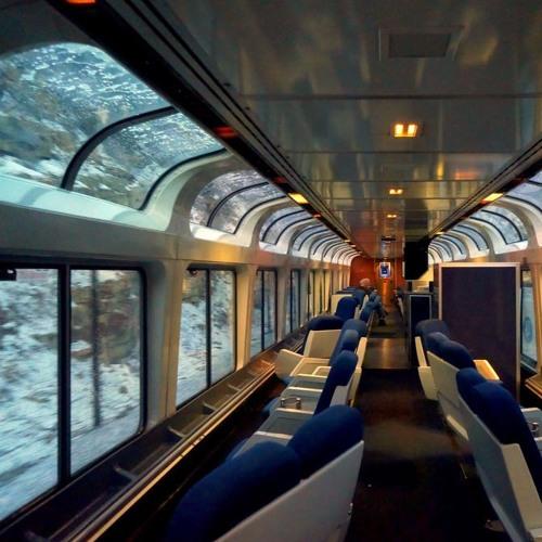Walking Through Train Cars