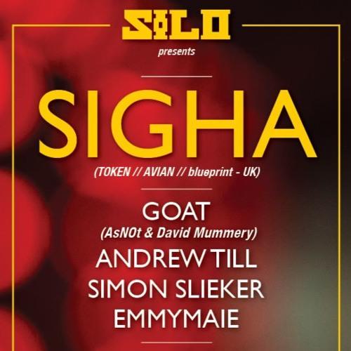 SIGHA -SILO 4th b'day Fri 7th Oct 2016