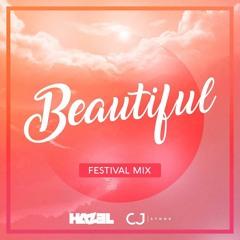 Hazel & CJ Stone - Beautiful (Festival Short Mix)