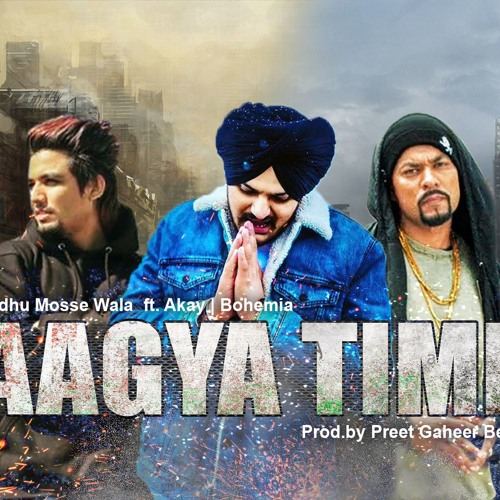 Aayga Time - Sidhu Moose Wala | Bohemia | A Kay | Type Beat Prod by