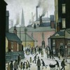 AFTER THE  WEDDING—Laurence Stephen Lowry