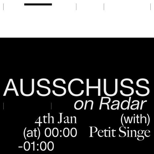 Ausschuss Radio w/ Petit Singe