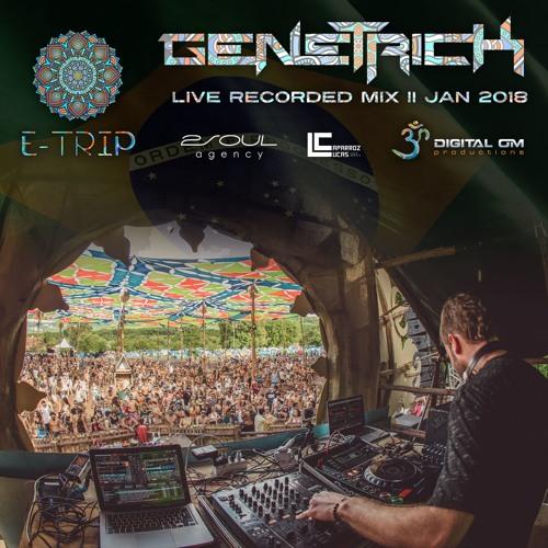 GeneTrick Live @ E-Trip Festival, Brazil (01.01.18)