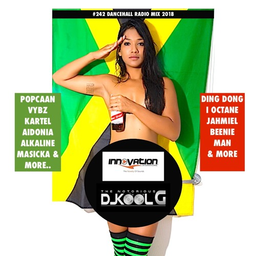 #242 2018 DANCEHALL MIX BY DJ KOOL G OF INNOVATION SOUND