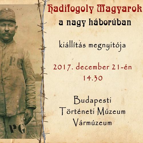 Hadifogoly magyarok a nagy háborúban – interjú Margittai Gáborral a Katolikus Rádióban