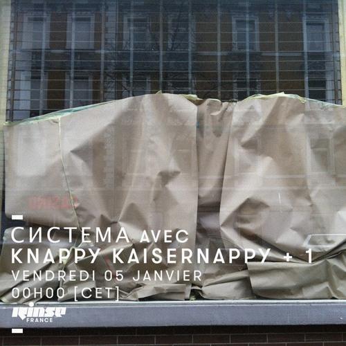 система w/ Knappy kaisernappy + Systemnapotvora + 1 on RINSE fr. 05 jan 2018