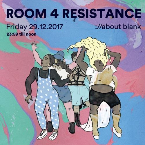 Violet @ Room 4 Resistance - ://about blank - 29.12.2017