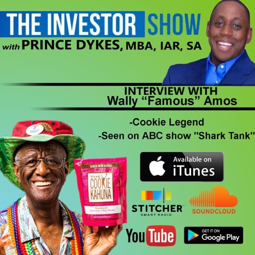 """PODCAST Famous Amos Cookie Founder Wally """"Famous"""" Amos Interview"""