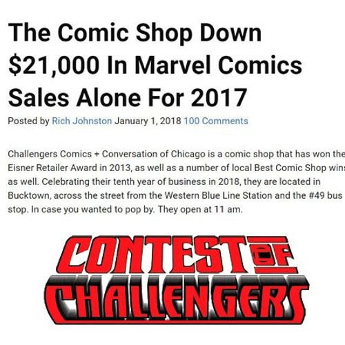 This is not what we want to be known for (Contest of Challengers)