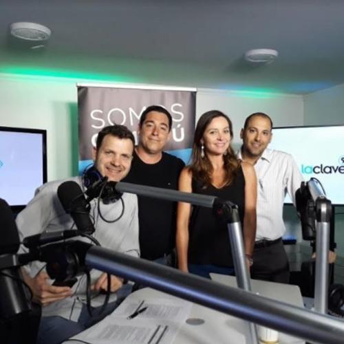 Entrevista a Rodrigo Aljaro de Grupo Gourmet en Emprender es Clave de Radio La Clave