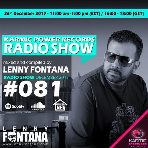 #81 Karmic Power Records Radio Christmas Show On HouseFM.NET by Lenny Fontana 26. December 2017