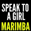 Speak To A Girl Marimba Ringtone - Tim McGraw Feat. Faith Gill