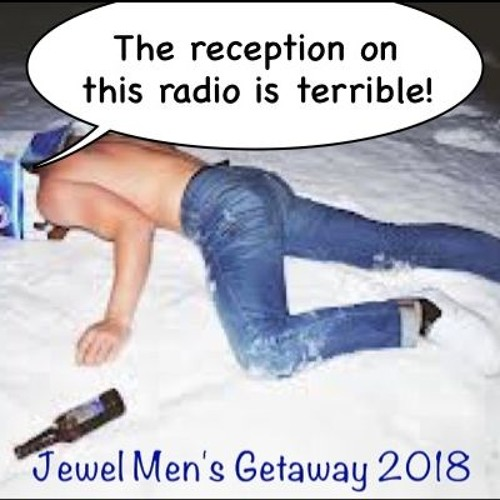 Locked and loaded (well, loaded anyway) for the 2018 JEWEL Men's Getaway Weekend