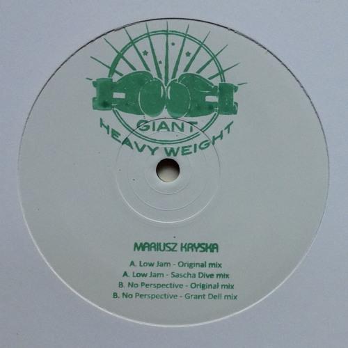 GIANT - GR011 - Mariusz Kryska - LOW JAM EP