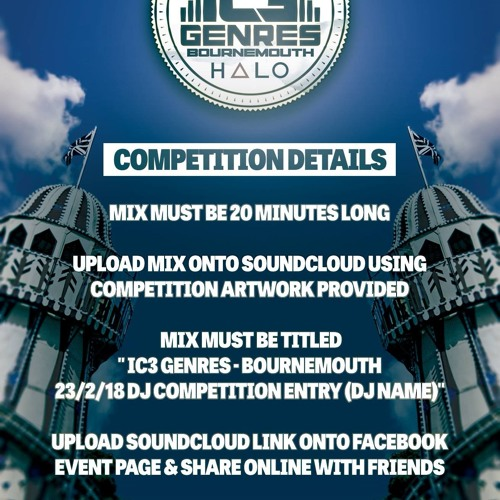 IC3 Genres - Bournemouth 23.2.18 DJ Competition Entry-STAPEZ