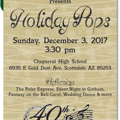 December 3 2017 Holiday Pops Concert