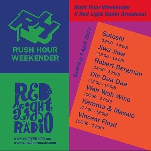 Rush Hour Weekender ~ Red Light Radio