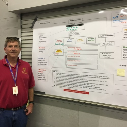 LSUHSC-Shreveport Physicians Respond to Evacuee Needs - Knox Andress - 11 Dec. 2017