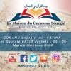 Sourate  Al - Fatiha , et Sourate n°35 · FATIR · Versets  05 - 06 / Malick Mohsine DIOP