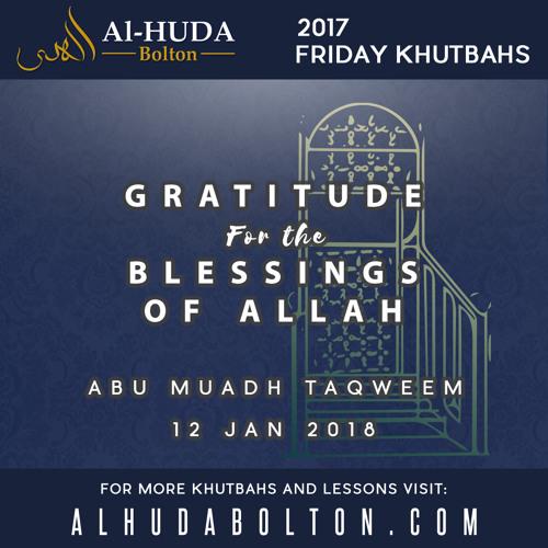 Gratitude for the Blessings of Allah
