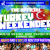 THE OFFICIAL TURKEY WEEKENDER MIX 2018 MIXED BY DJ CEE SIX