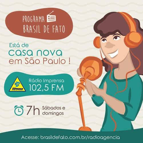 Ouça o Programa Brasil de Fato - Edição São Paulo - 13/01/18