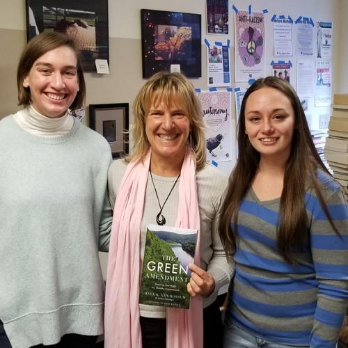 Maya K Van Rossom Author The Green Amendment