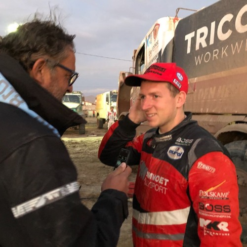 01 13 Dakar 2018 Janus Van Kasteren By Radio Rallymaniacs On