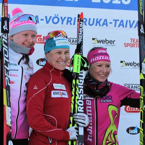 SM Vantaa: Naisten yhdistelmäkilpailun pressitilaisuus
