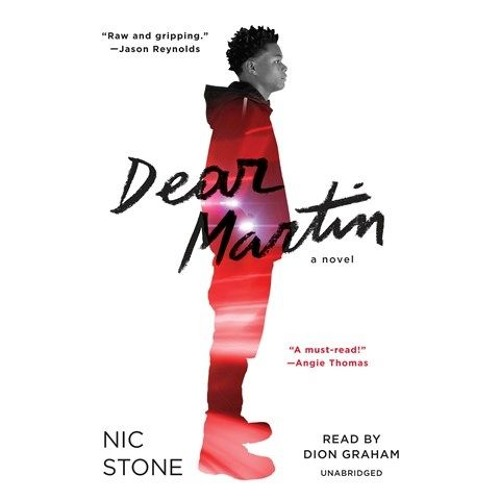 YA author Nic Stone and Golden Voice narrator Dion Graham talk about DEAR MARTIN