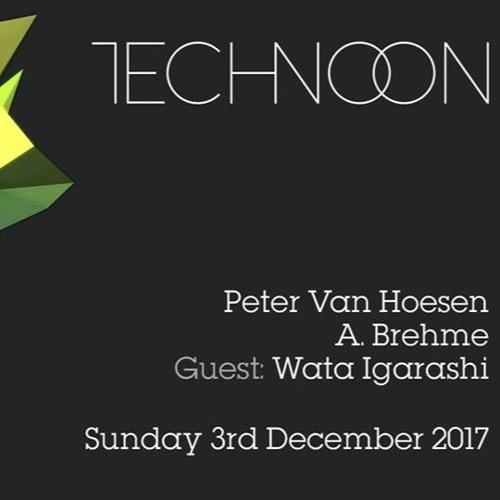 Peter Van Hoesen - Live At Technoon 2017-12-03