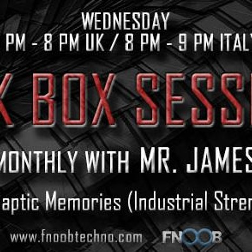 Dark Box Sessions 023 Special guest Synaptic Memories 10.01.2018