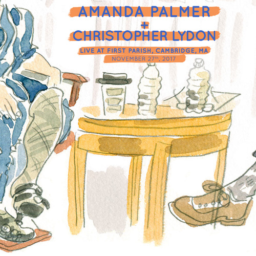 AMANDA PALMER & CHRISTOPHER LYDON IN CONVERSATION, NOV 27th 2017