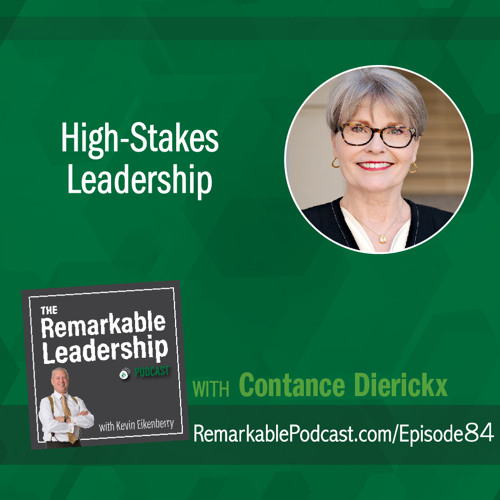 High-Stakes Leadership with Constance Dierickx